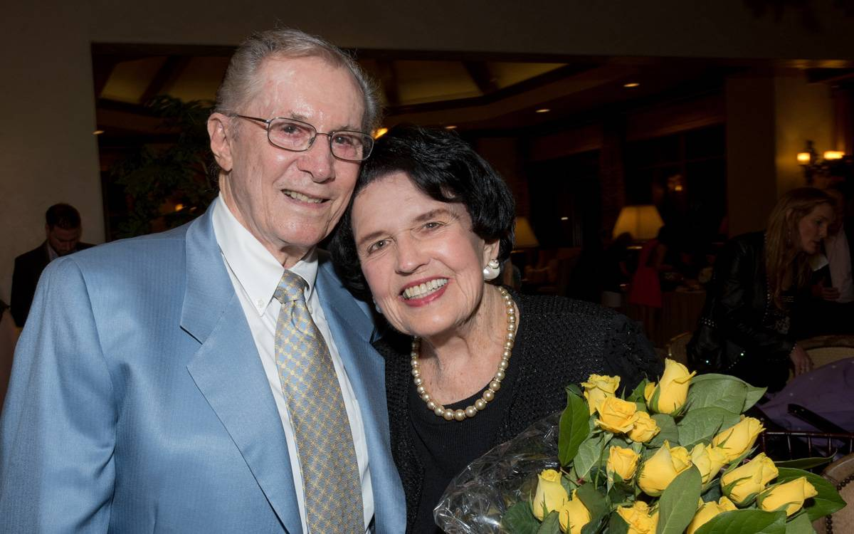 Husband and wife Warner and Debbie Lusardi, seen here smiling at the camera, gave a $25 million philanthropic gift to fund a much-needed expansion at Scripps Encinitas.