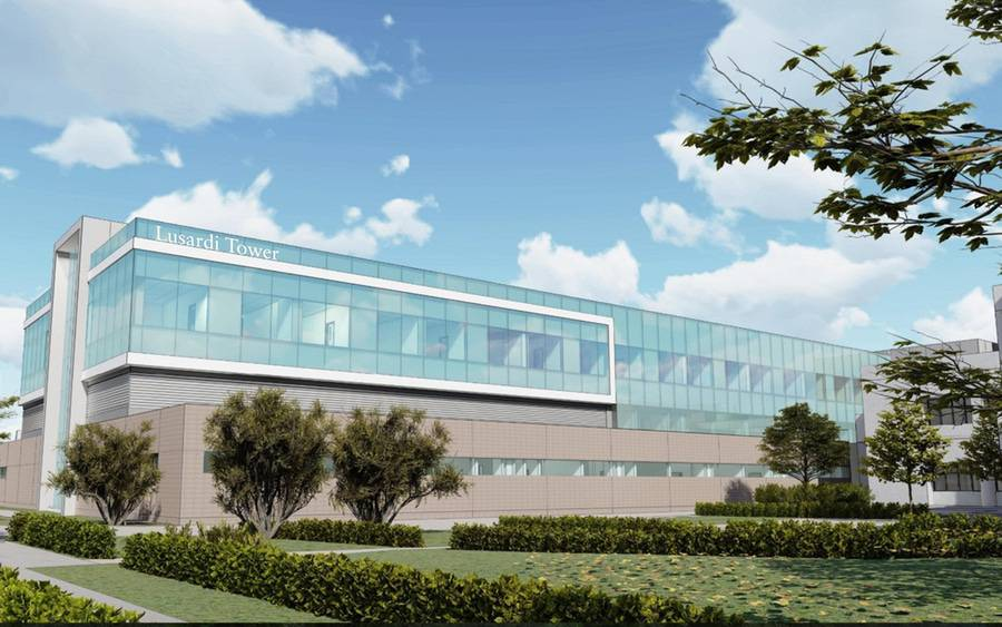 An artist's rendering shows the future Lusardi Tower at Scripps Memorial Hospital Encinitas.